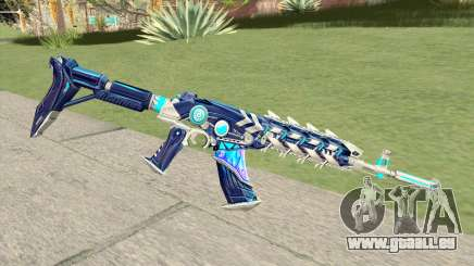 AK-47 (Broken Ice) pour GTA San Andreas
