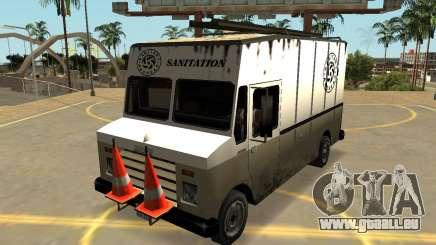 Brute Boxvile (Badges, Chante-Les Extras) pour GTA San Andreas