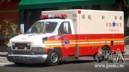 GMC C4500 Ambulance V1.2 pour GTA 4
