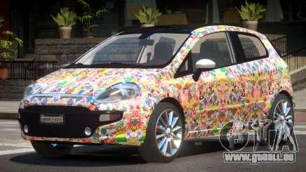Fiat Punto RS PJ5 für GTA 4