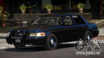 Ford Crown Victoria BE Police V1.1 pour GTA 4