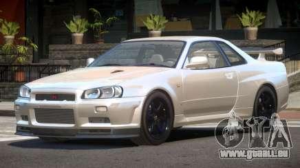 Nissan Skyline R34 E-Style pour GTA 4