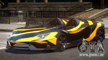 Lamborghini Aventador Spider SR PJ5 pour GTA 4