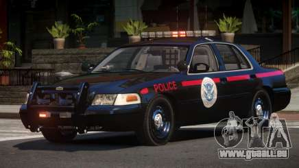 1997 Ford Crown Victoria Police pour GTA 4
