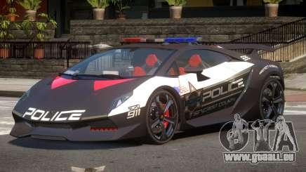 Lamborghini SE Police V1.1 pour GTA 4