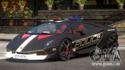 Lamborghini SE Police V1.3 pour GTA 4