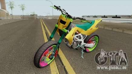 Aprilia MXV 450 für GTA San Andreas
