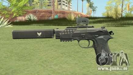 Beretta 92 (Silenced) für GTA San Andreas