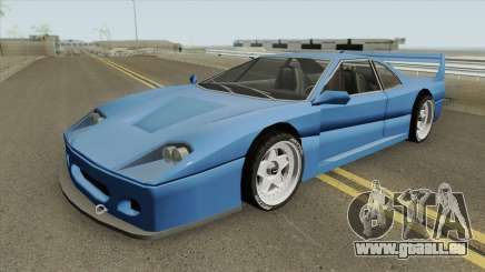 Turismo F40-GT (BlueRay) für GTA San Andreas