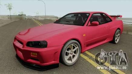 Nissan Skyline R34 GT-R IVF pour GTA San Andreas