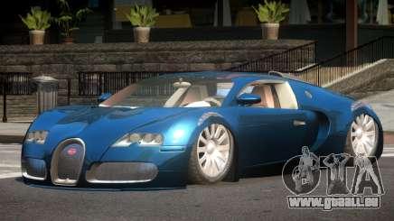 Bugatti Veyron 16.4 SR für GTA 4