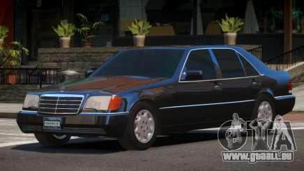 1993 Mercedes 600SEL pour GTA 4