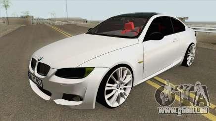 BMW E92 335D M-Tech 2007 pour GTA San Andreas