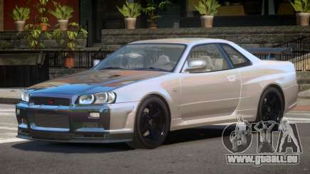 Nissan Skyline R34 E-Style PJ6 pour GTA 4