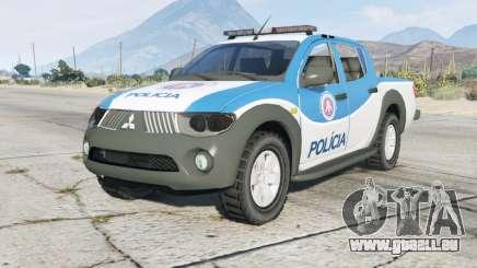 Mitsubishi L200 Département De La Police pour GTA 5