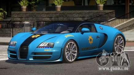 Bugatti Veryon Police V1.1 pour GTA 4