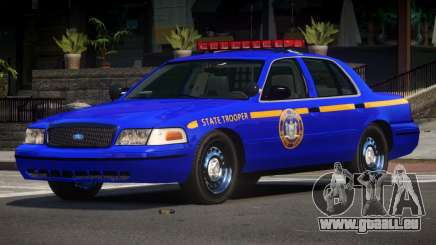 Ford Crown Victoria NYS Police pour GTA 4