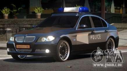 BMW 320i RS Police für GTA 4