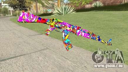 AK-47 (Incarnated) für GTA San Andreas