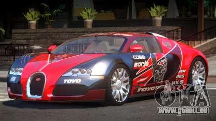 Bugatti Veyron DTI PJ6 für GTA 4