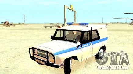 Die Polizei UAZ 31512 für GTA 4