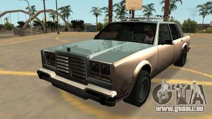 Schyster Greenwood (Badges-PJ-les Extras) pour GTA San Andreas