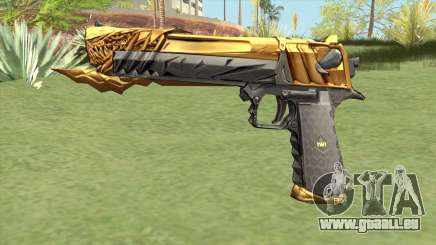 Desert Eagle (Born Beast Noble Gold) pour GTA San Andreas
