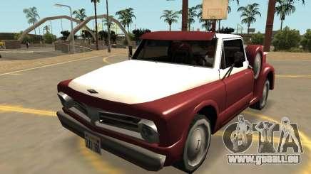 Insipide Slamvan Actions (Sa, le Style, les Extras & PJ) pour GTA San Andreas