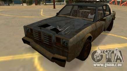 Schyster Greenwood Rouillé (Badges-PJ-les Extras) pour GTA San Andreas