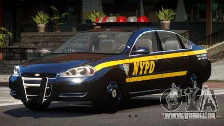 Chevrolet Impala LS Police pour GTA 4