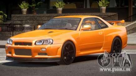 Nissan Skyline R34 L-Tuned pour GTA 4