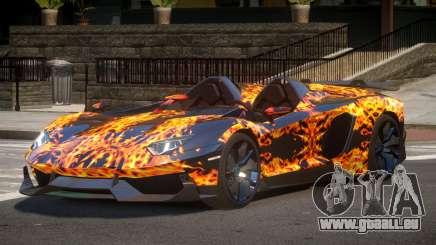 Lamborghini Aventador Spider SR PJ1 pour GTA 4