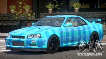 Nissan Skyline R34 E-Style PJ5 pour GTA 4