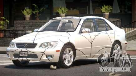 Lexus IS300 LS PJ5 pour GTA 4
