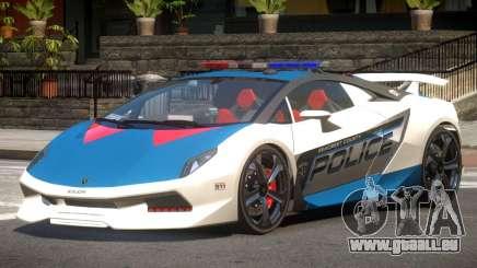 Lamborghini SE Police V1.4 pour GTA 4