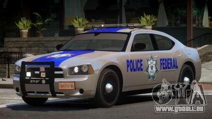 Dodge Charger Police Federal für GTA 4
