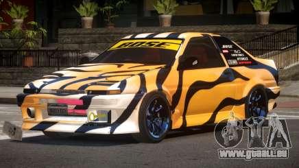 Toyota Corolla GT-S V1.1 PJ3 für GTA 4