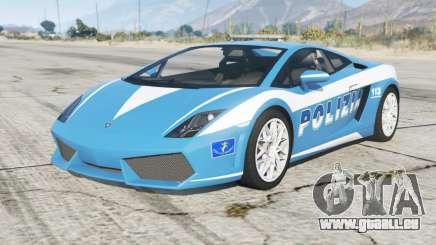 Lamborghini Gallardo Polizia pour GTA 5