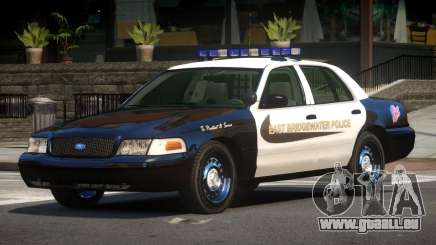 Ford Crown Victoria MS Police V1.1 pour GTA 4