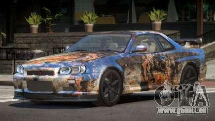 Nissan Skyline R34 L-Tuned PJ4 pour GTA 4