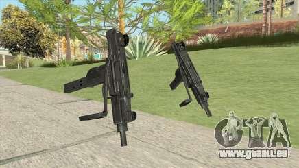 Uzi (HQ) für GTA San Andreas