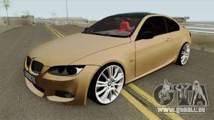 BMW E92 335D M-Tech 2010 pour GTA San Andreas