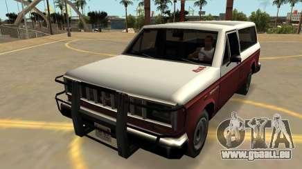Insipide Bobcat avec les Badges & Extras v2 pour GTA San Andreas