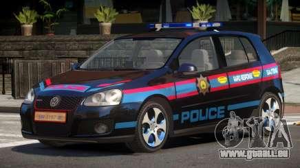 Volkswagen Golf V Police pour GTA 4