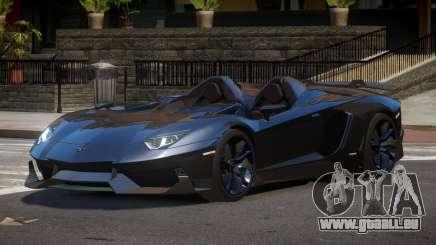 Lamborghini Aventador Spider SR pour GTA 4