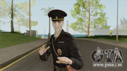 Patrol Police Officer (Russia) pour GTA San Andreas