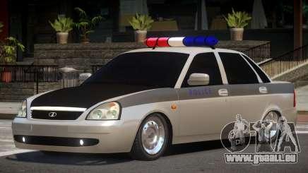 Lada Priora Police V1.1 für GTA 4