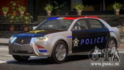 Carbon Motors E7 Police pour GTA 4