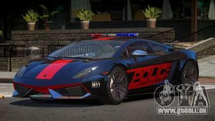 Lamborghini Gallardo SR Police für GTA 4