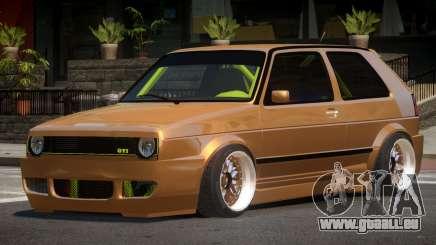 Volkswagen Golf 2 LT pour GTA 4